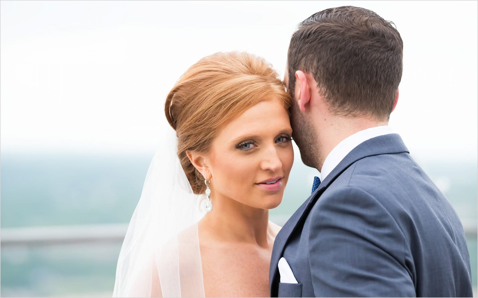 Cincinnati Wedding Photographers Carew Tower First look
