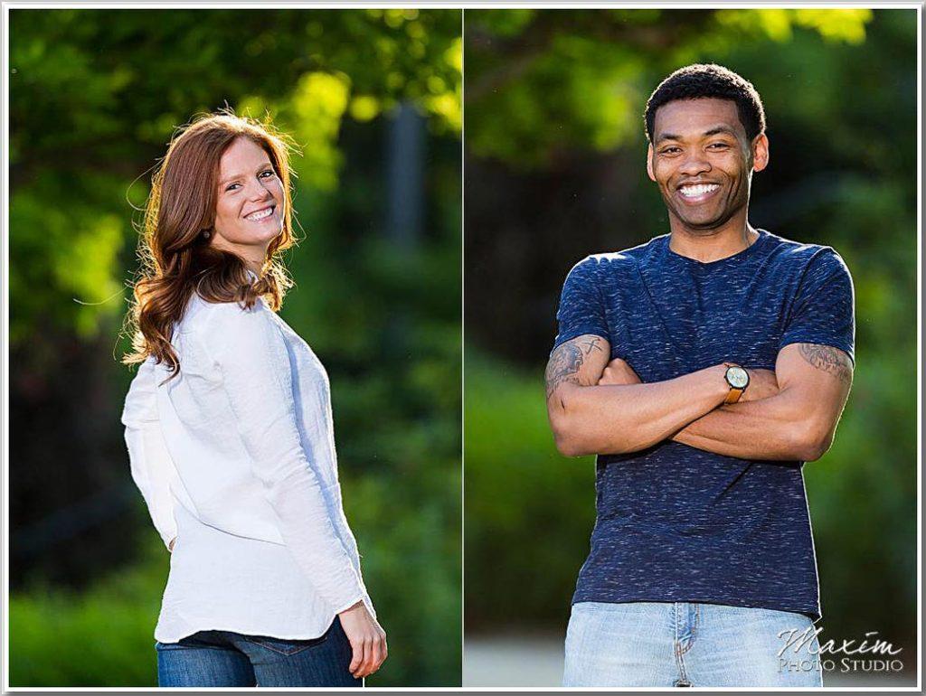 Ault Park Cincinnati Engagement photography