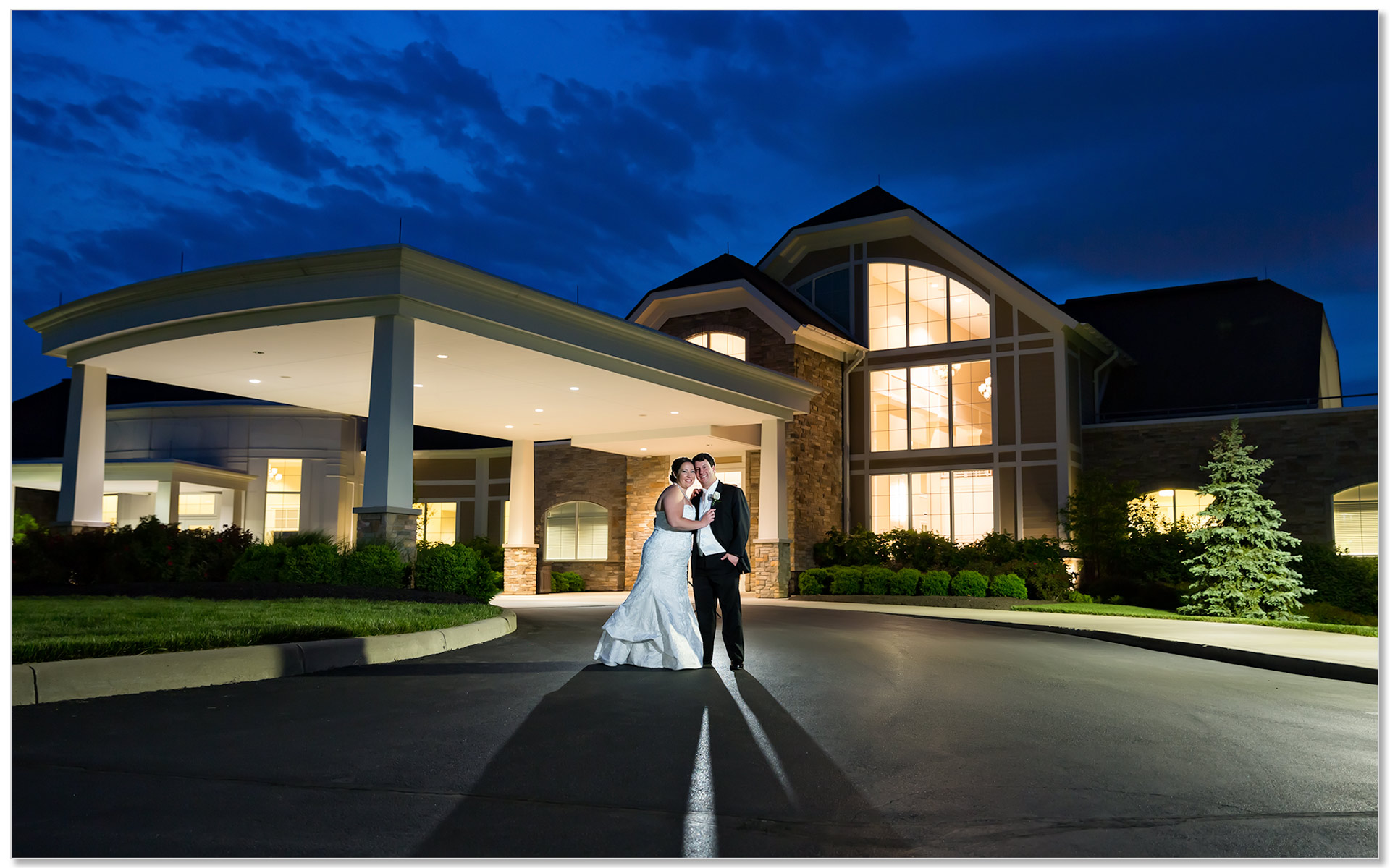 Cooper Creek Sunset Wedding Cincinnati