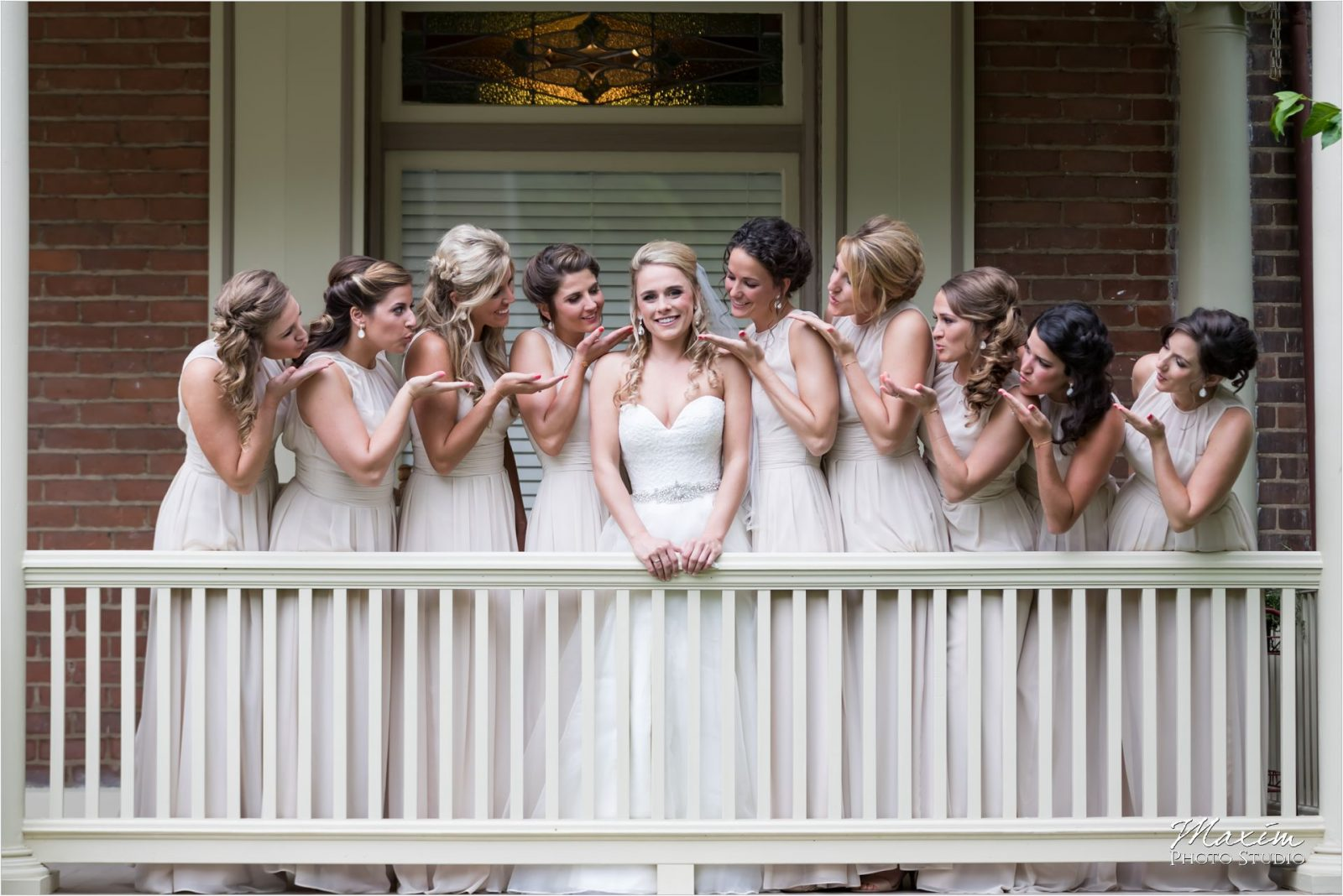 Drees Pavilion Cincinnati Wedding Bridesmaids Preparations