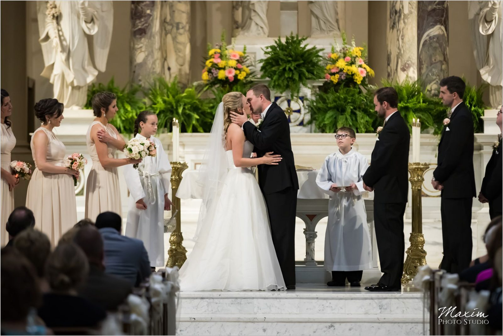 St Martin of Tours Cincinnati Wedding Ceremony