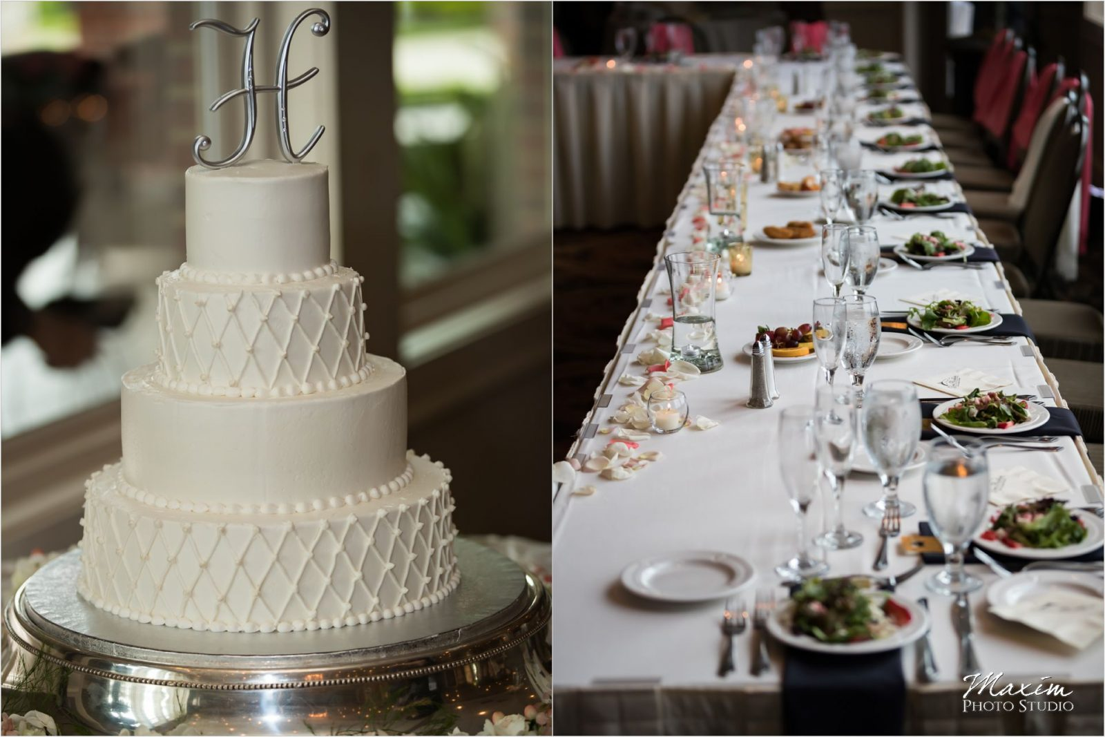 Drees Pavilion Wedding Reception cake