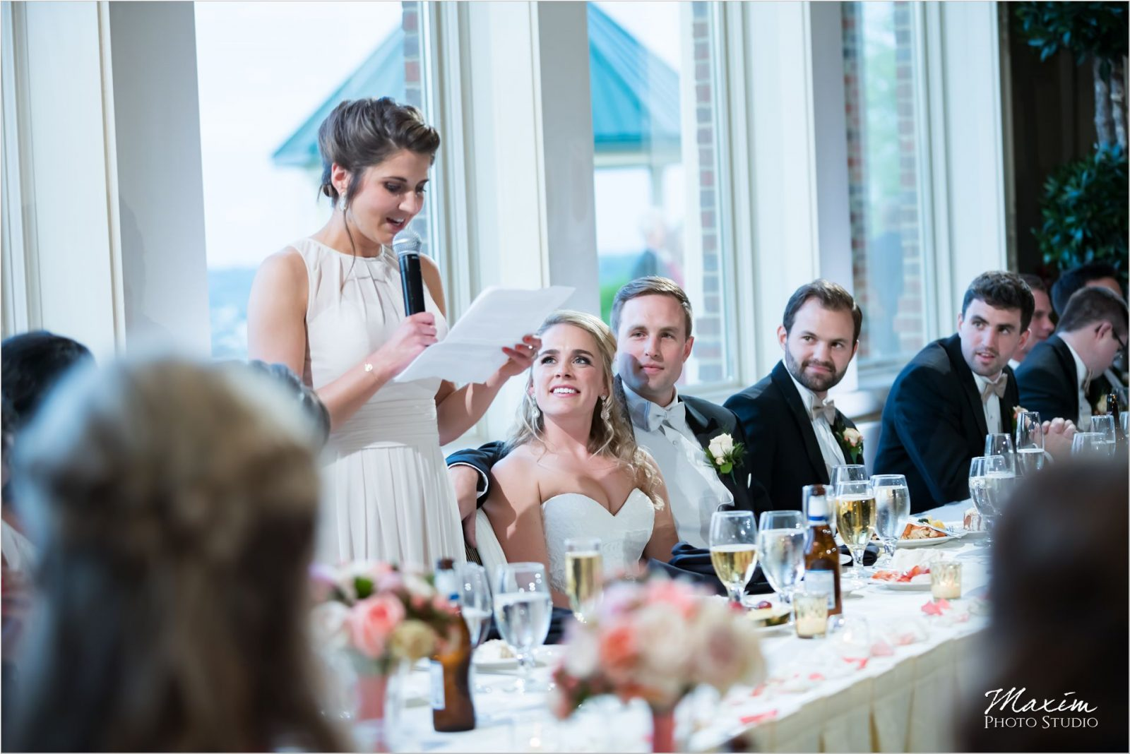 Drees Pavilion Wedding Reception Toasts