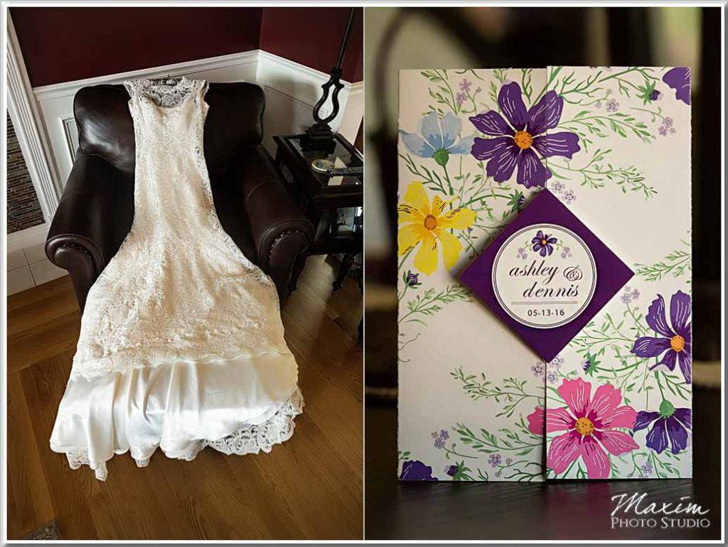 Drees Pavilion Wedding dress Invitation