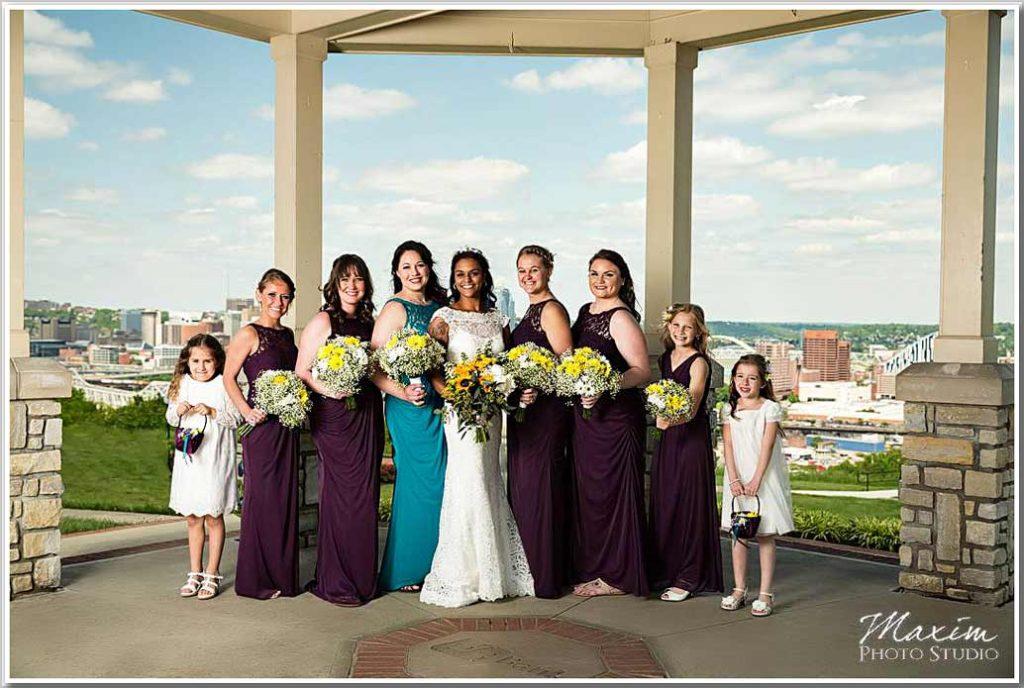 Drees pavilion bridesmaids picture