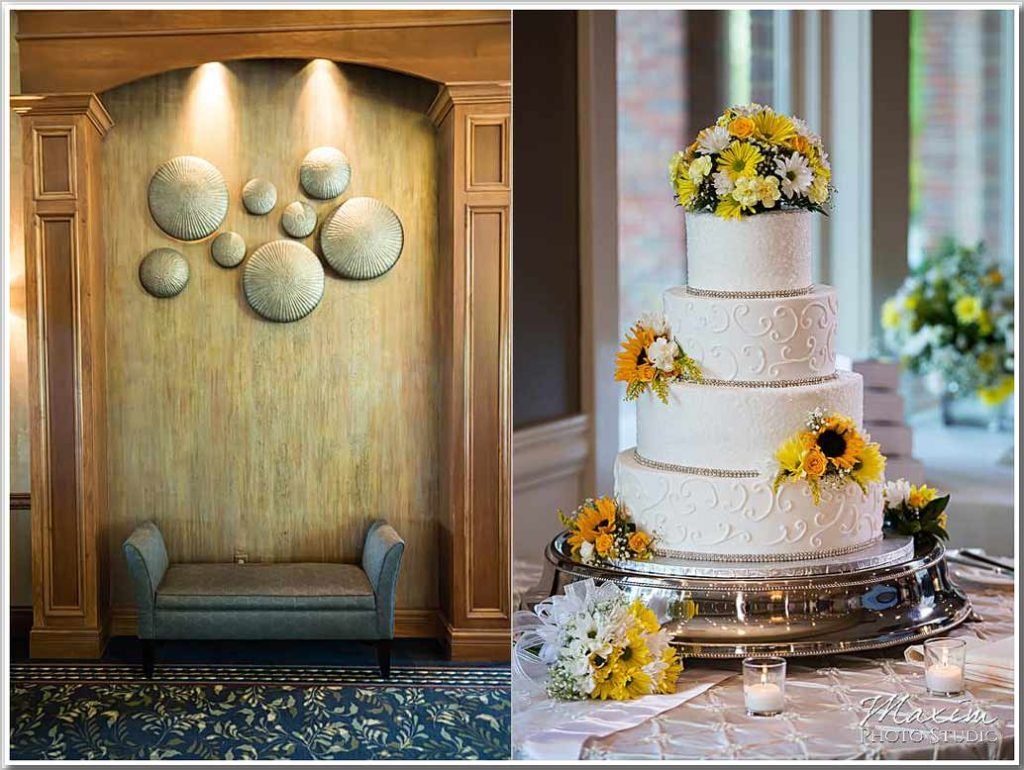 Fantasy and Frosting wedding cake Drees pavilion