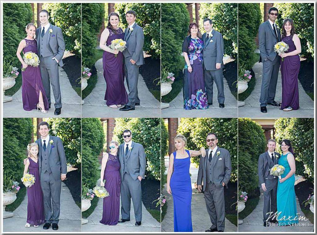 Drees Pavilion Bridal Party pictures