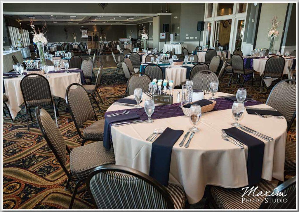 Drees Pavilion wedding reception room