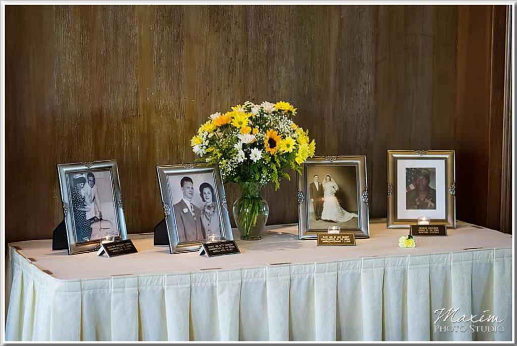 Drees Pavilion wedding reception decorations