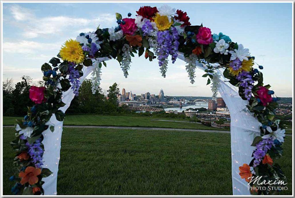 Drees Pavilion Wedding ceremony