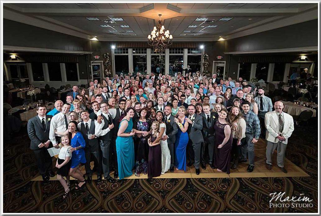 Drees Pavilion wedding Group Photo