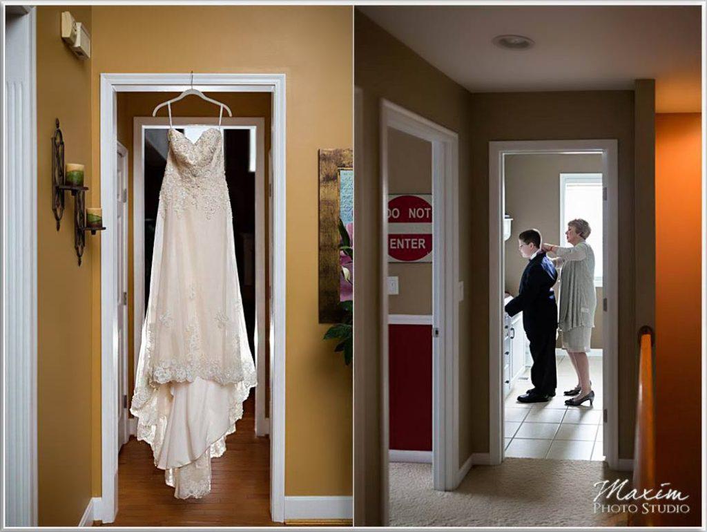 Four Bridges Country Club wedding preparations