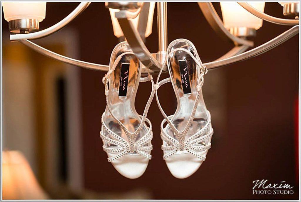 Four Bridges Country Club Wedding shoes