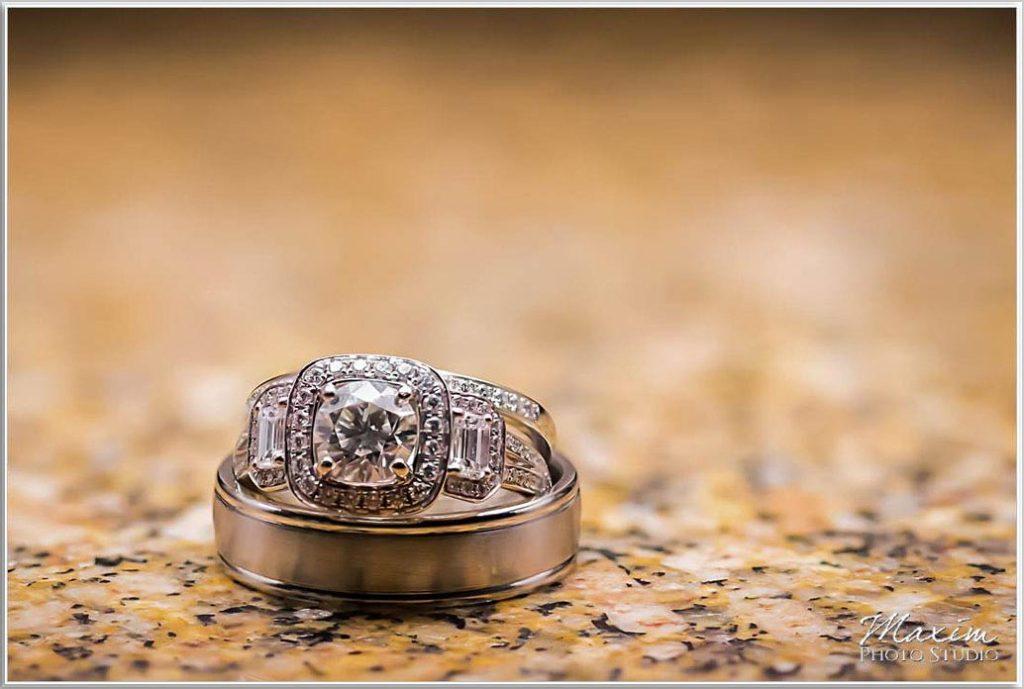 Four Bridges Country Club Wedding rings