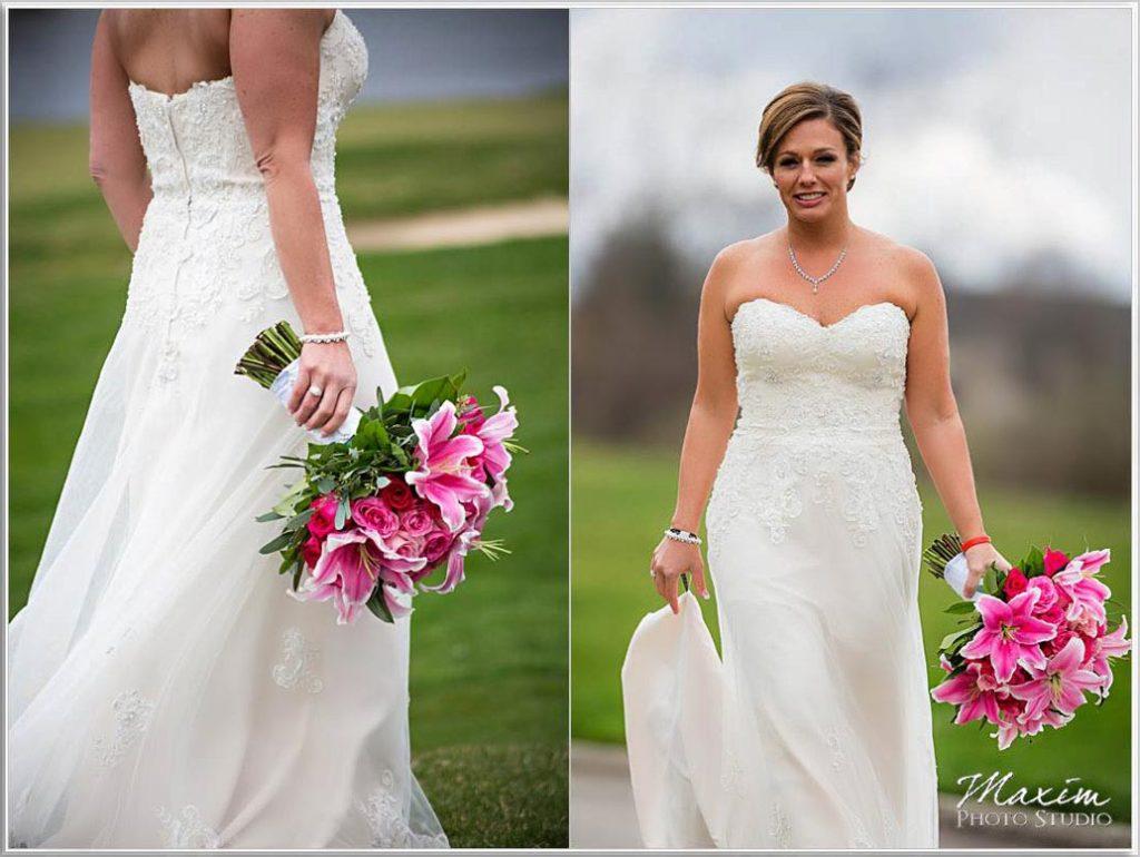 Bride Four Bridges Country Club Wedding