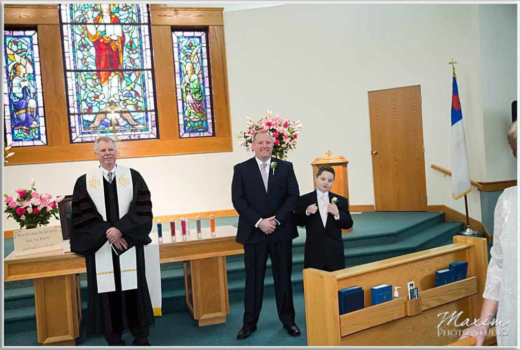 Groom Heritage Presbyterian Church Wedding