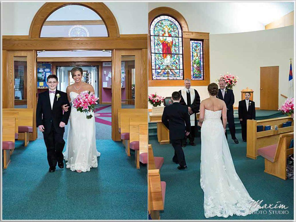 Bride Heritage Presbyterian Church Wedding
