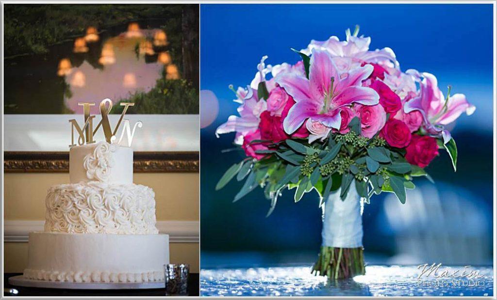 Wedding cake Four Bridges Country Club