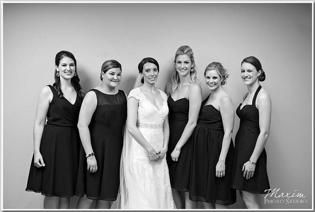 Dayton Ohio Wedding Bridesmaids