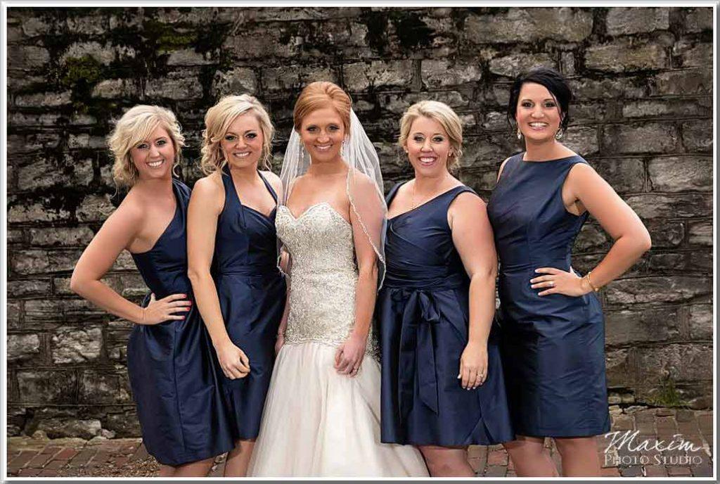 Bridesmaids Cincinnati The Center Wedding