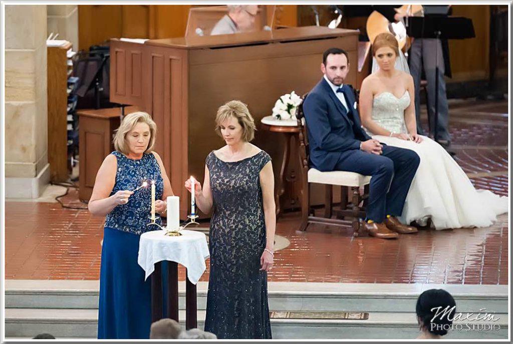 Holy Trinity Cincinnati Wedding Unity Candle