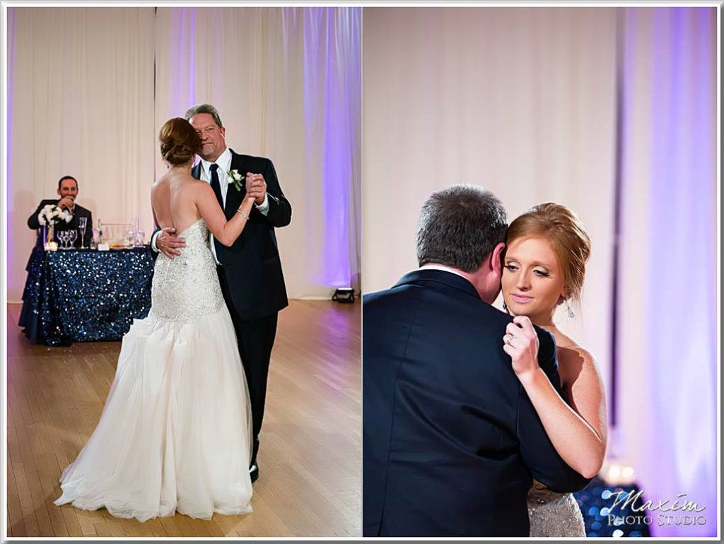 The Center Cincinnati first wedding dance