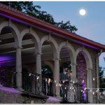 Alms Park Cincinnati Moonlight wedding