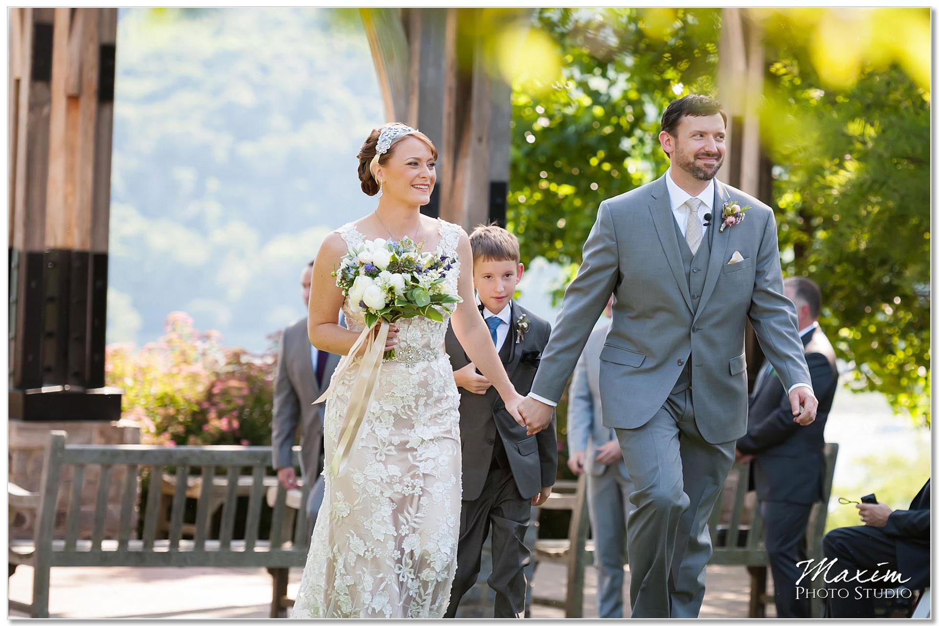 Alms Park Wedding Ceremony Cincinnati