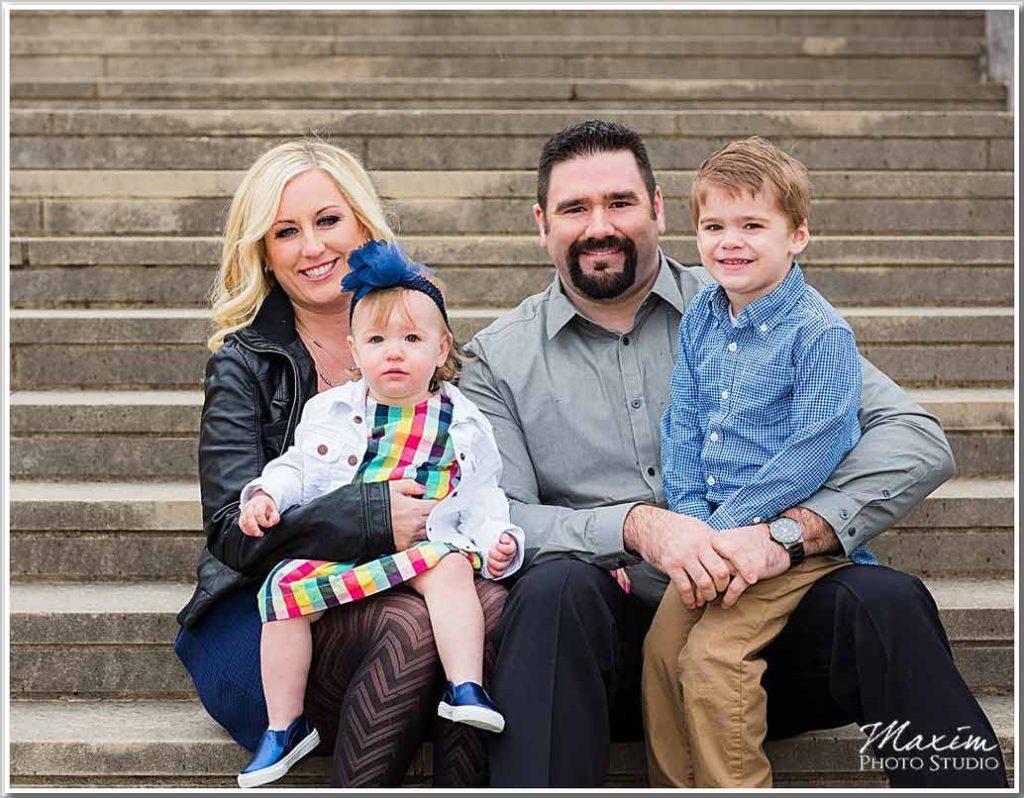 Ault Park Cincinnati Family Portrait