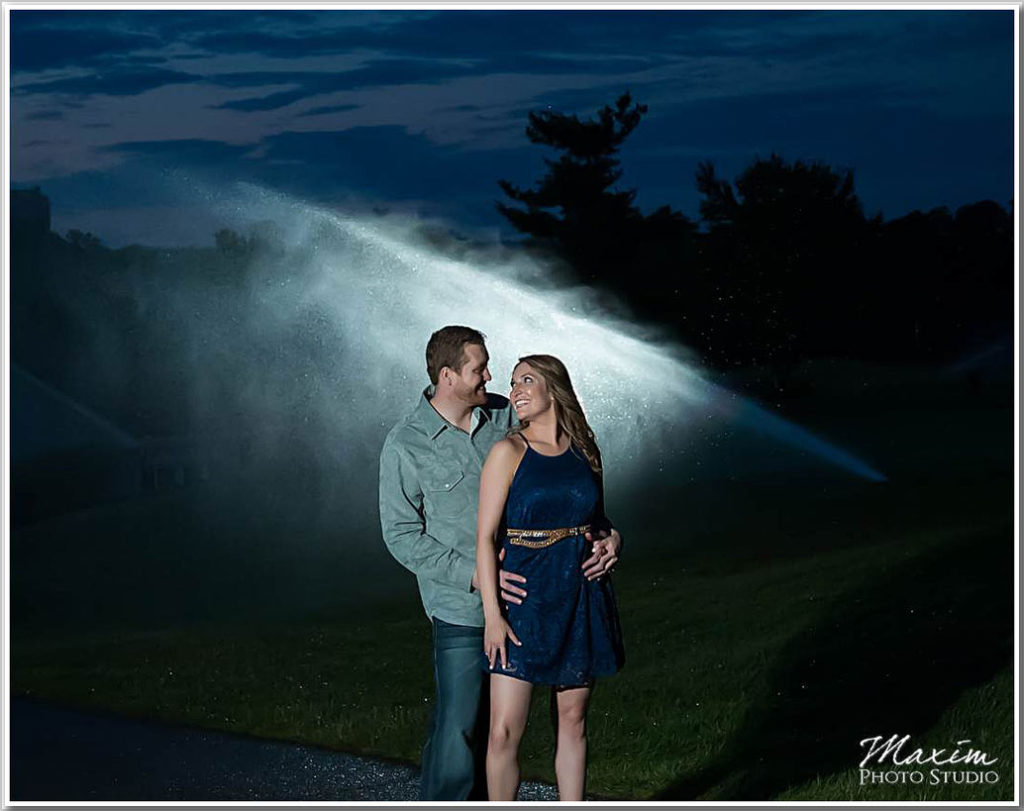 Engagement Photography Ivy Hills Country Club