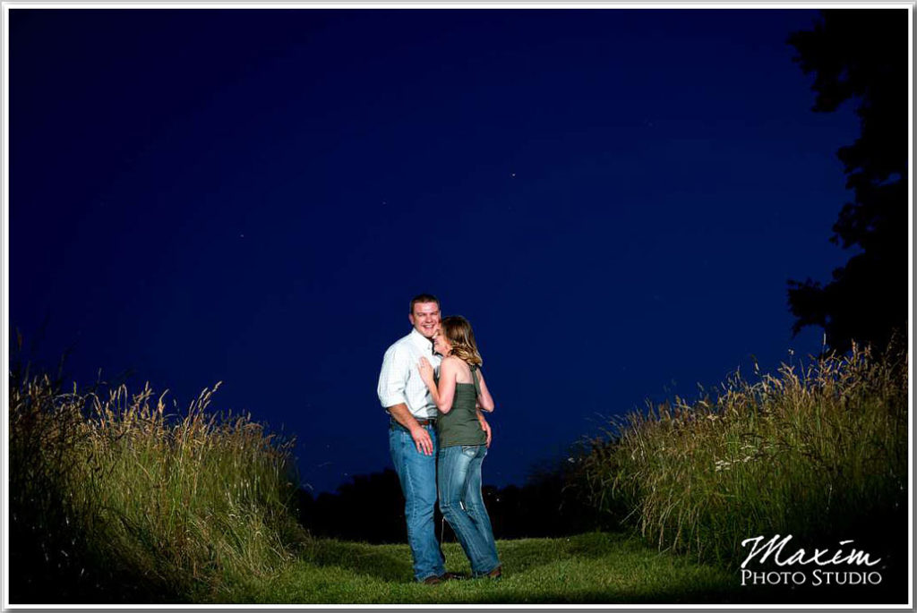 Cincinnati Wedding Photographer Beckley Creek Park KY sunset photography