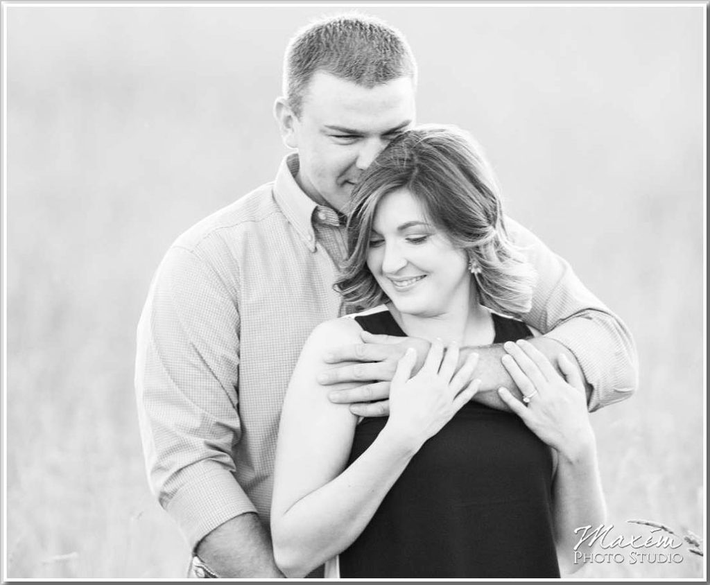 Cincinnati Wedding Photographs natural light engagement