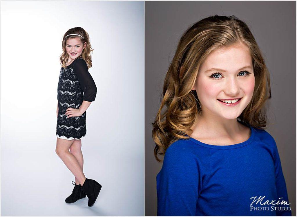 Dayton Ohio Model Portfolio Studio Shoot