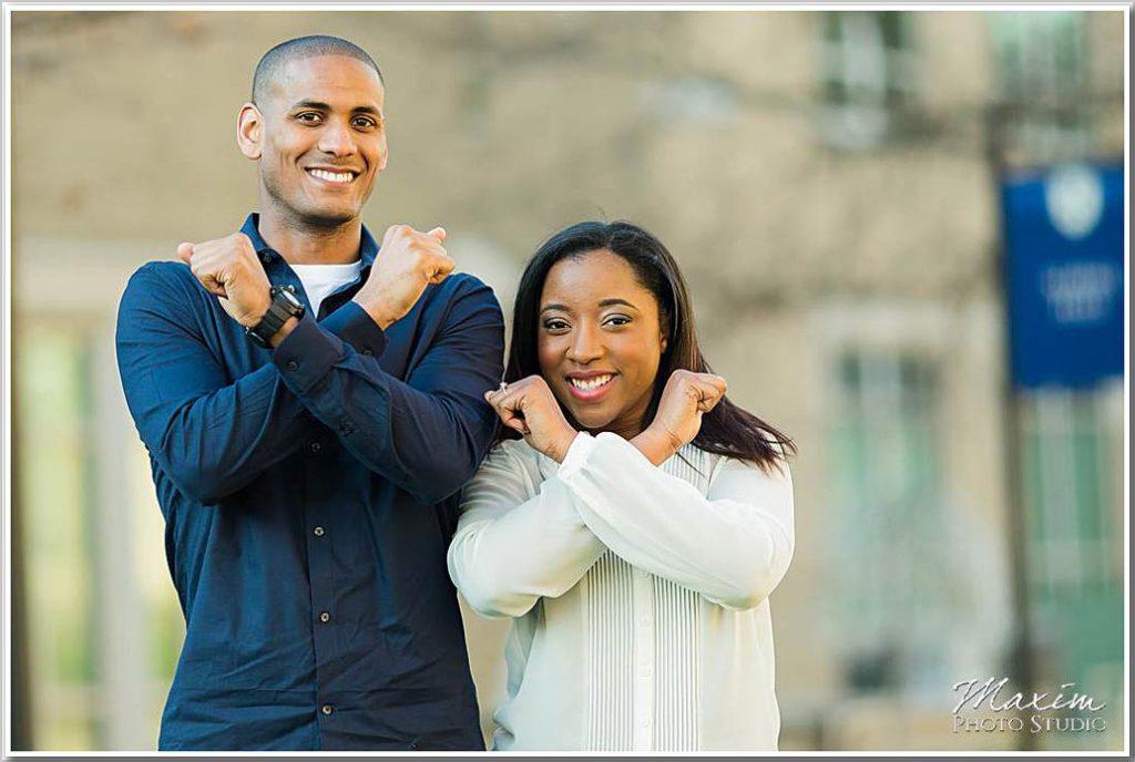 Xavier University Cincinnati ohio engagement td 07