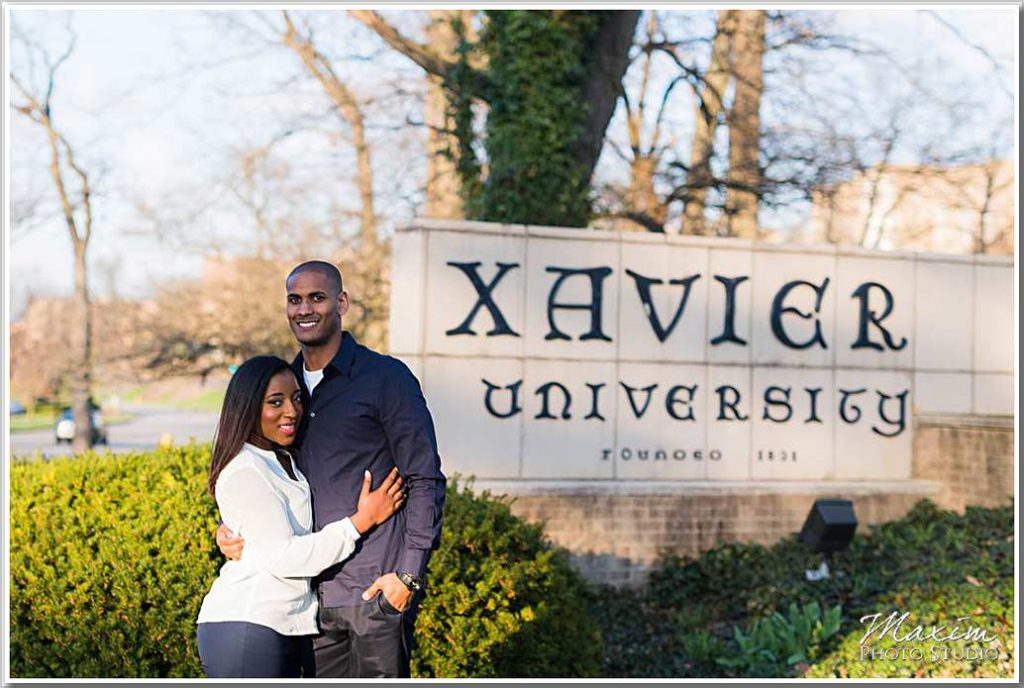 Xavier University Engagement Photography