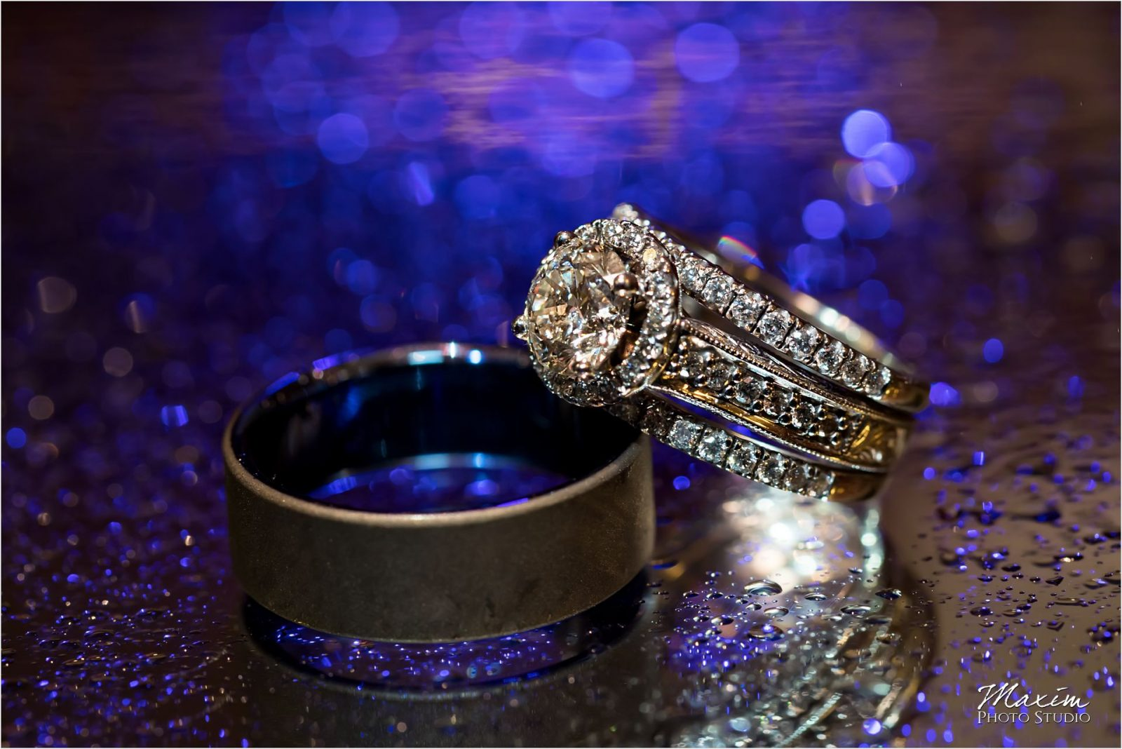 Drees Pavilion Covington Kentucky Wedding Ring
