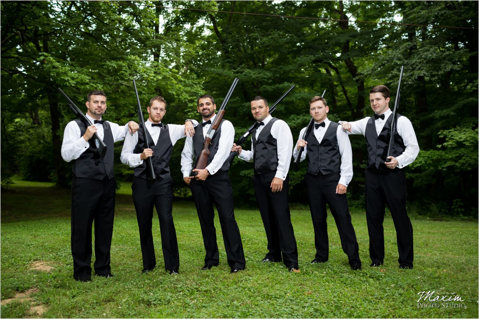 Drees Pavilion Cincinnati Wedding Photography Groomsmen