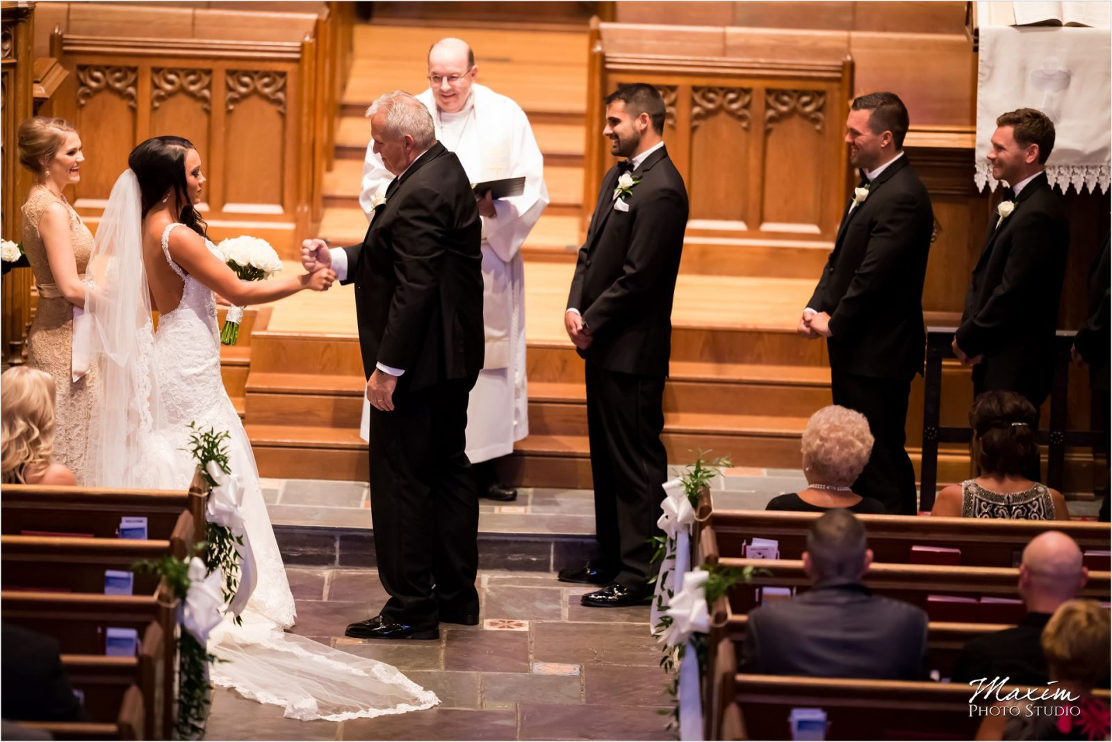 Hyde Park Community United Methodist Church Wedding Ceremony