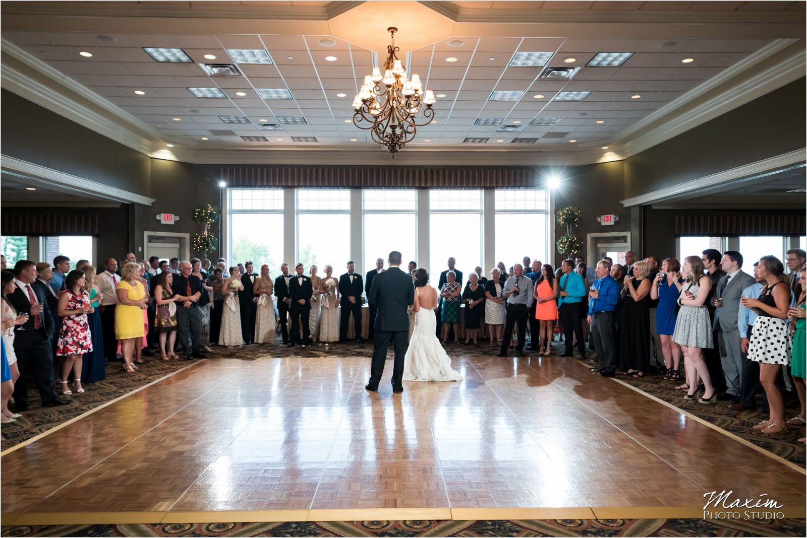 Drees Pavilion Covington Kentucky Wedding Reception Dance