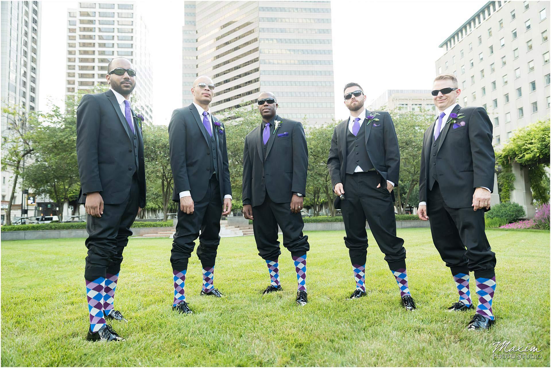 P&G gardens groomsmen socks