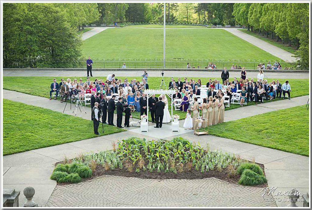 Ault Park Ceremony Wedding