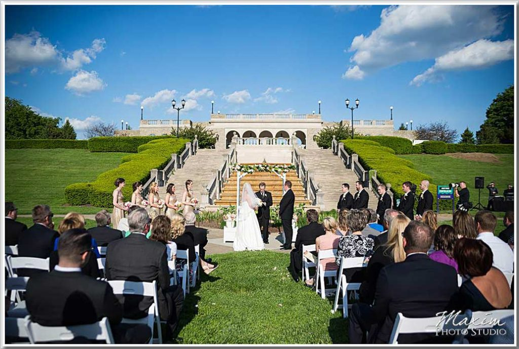 Wedding Ceremony Ault Park Cincinnati