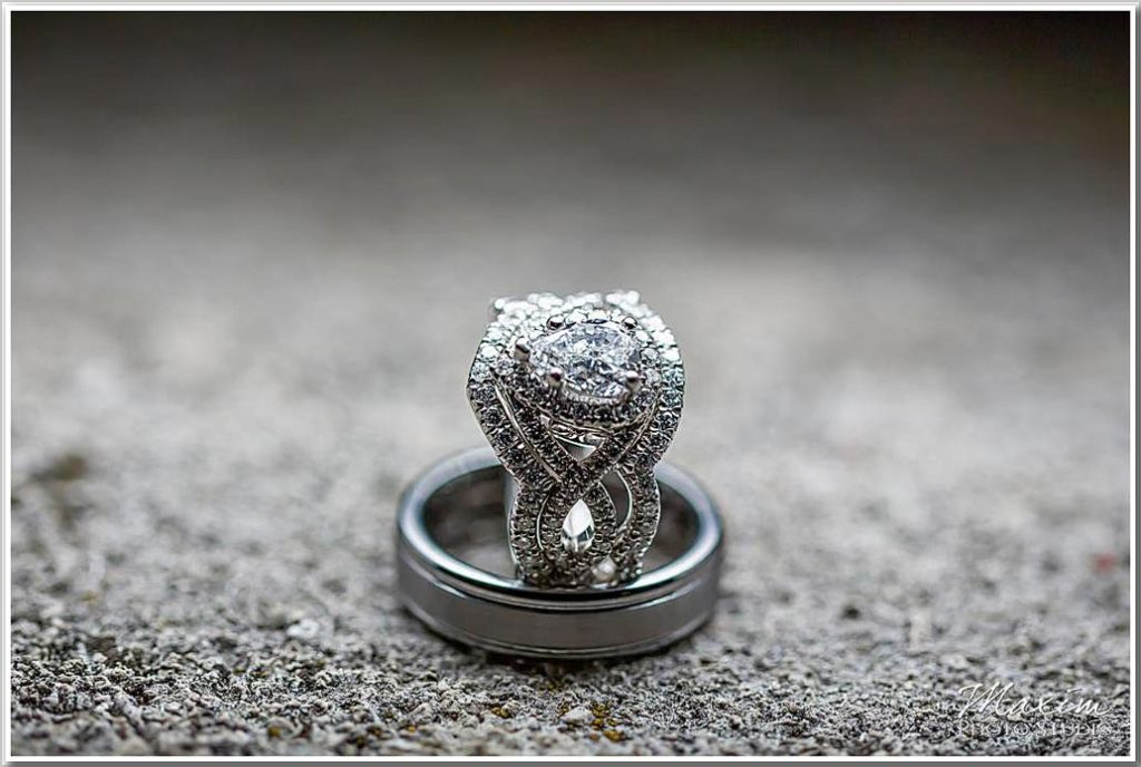 Ault Park Wedding Rings