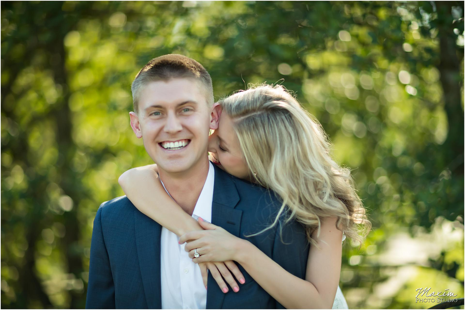 Ault Park Cincinnati, Engagement Photography, laughing couple