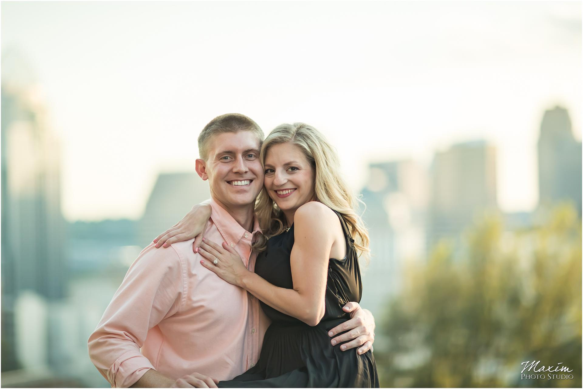 Cincinnati overlook, Engagement Photography