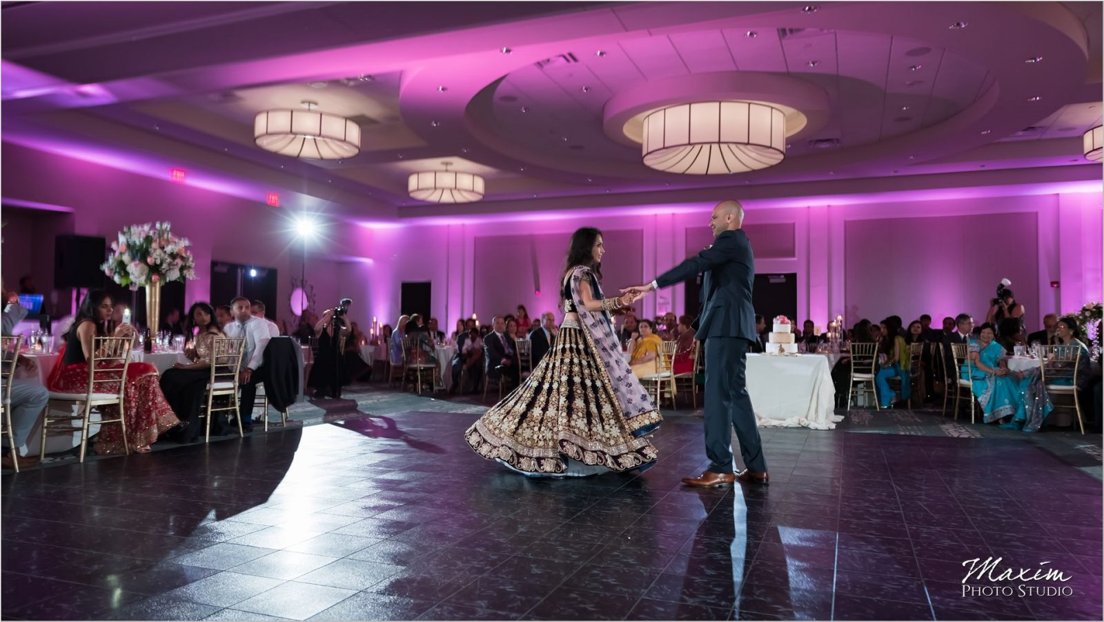 Centre Park West Indian Wedding Reception