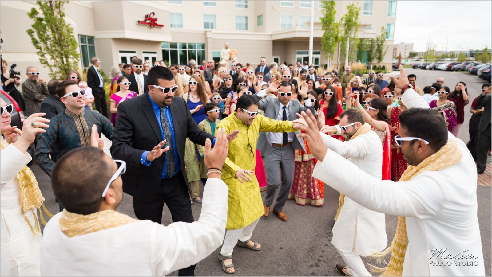 Centre Park West Indian Wedding Bharat