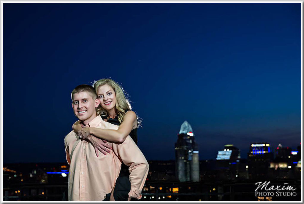 Mt Adams Cincinnati Night engagement