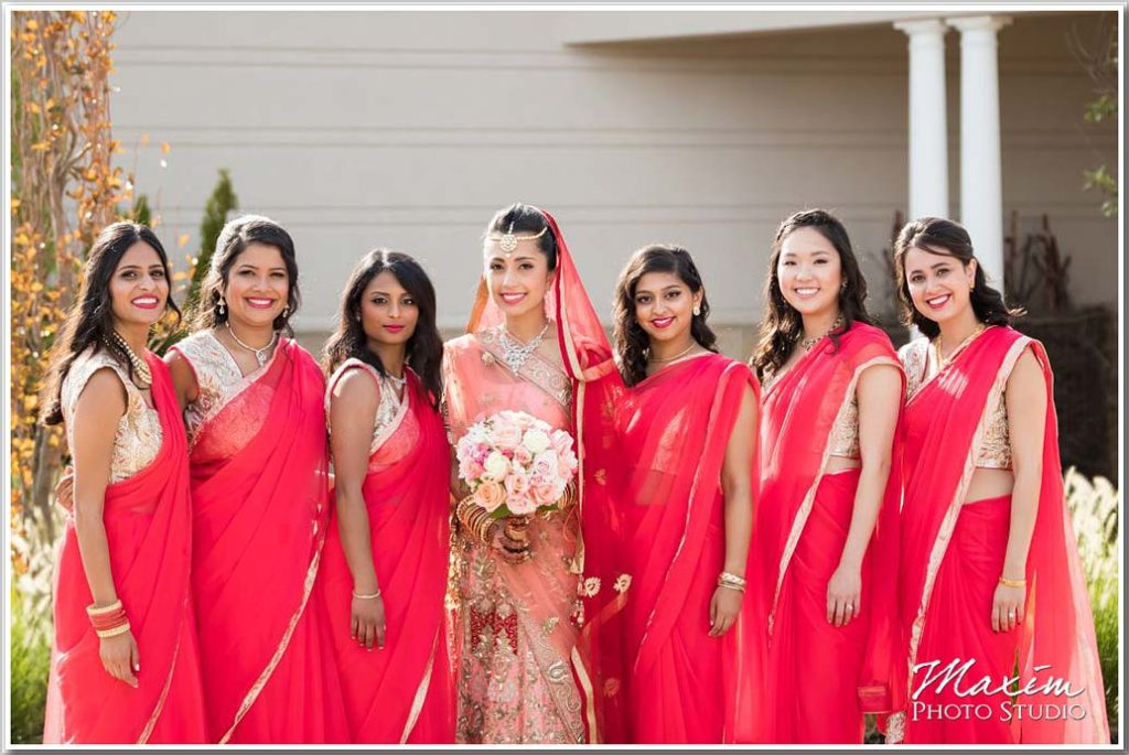 Cincinnati Wedding Photographers Centre Park West Indian Wedding Portrait