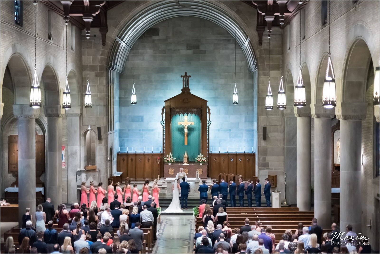 Holy Spirit Church Cincinnati Wedding Ceremony